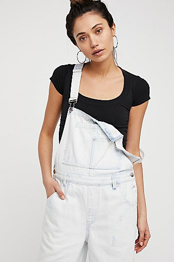 Slouchy Cropped Overall
