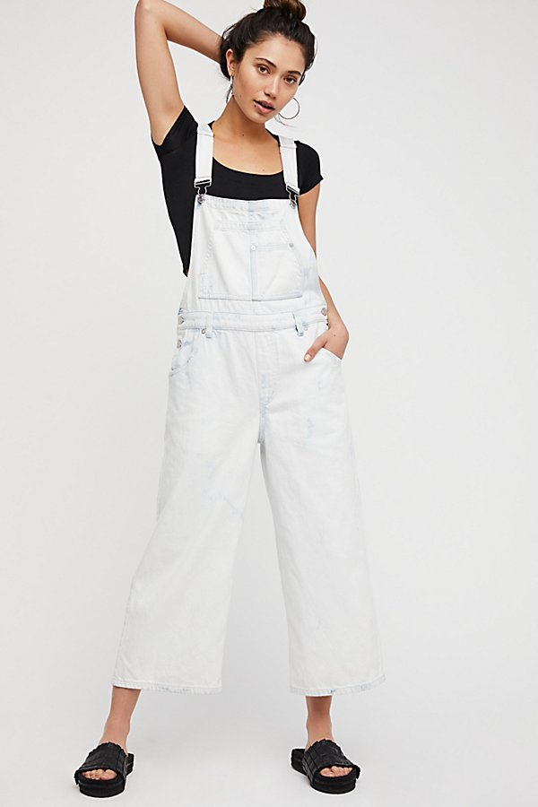 Slide View 1: Slouchy Cropped Overall
