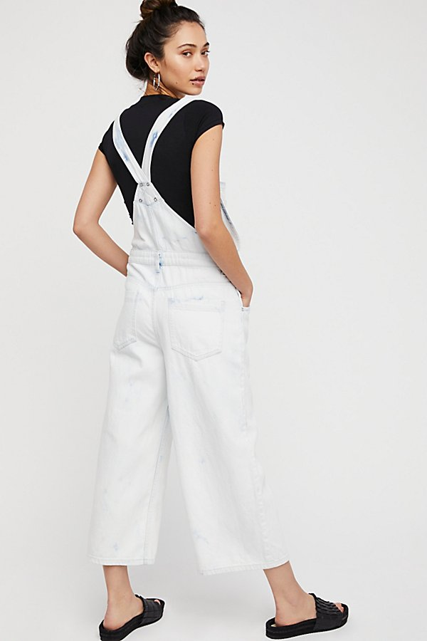Slide View 3: Slouchy Cropped Overall