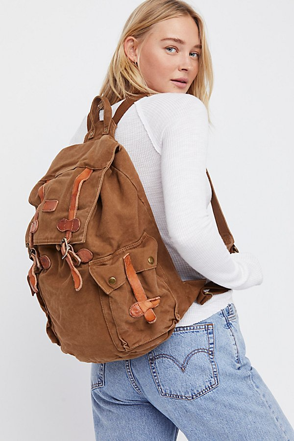 Slide View 1: Columbus Distressed Backpack