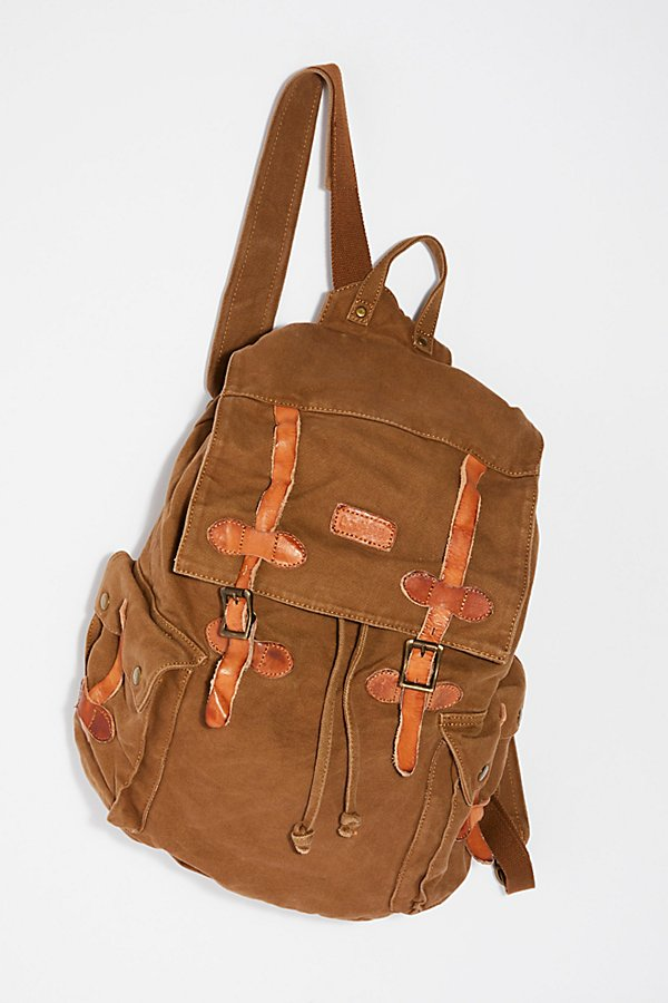 Slide View 2: Columbus Distressed Backpack