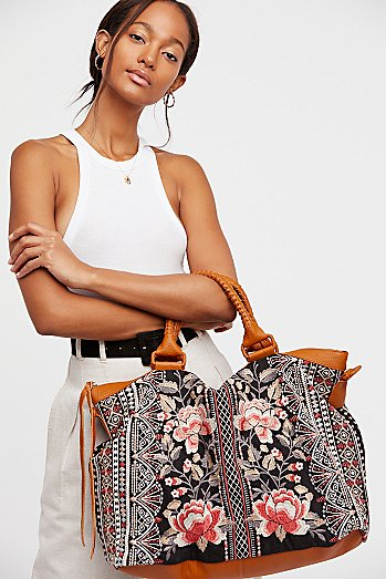 Calida Embroidered Tote