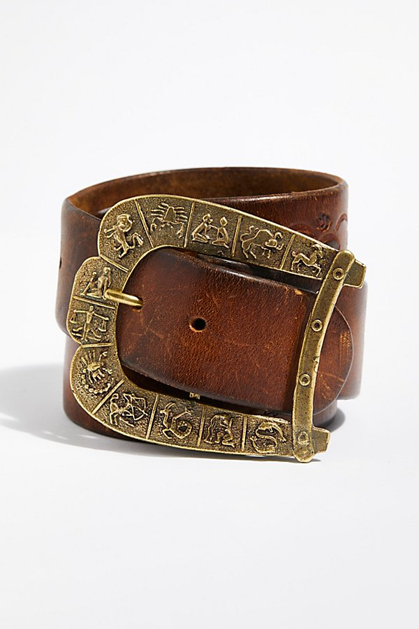 Slide View 3: Sicilia Distressed Belt