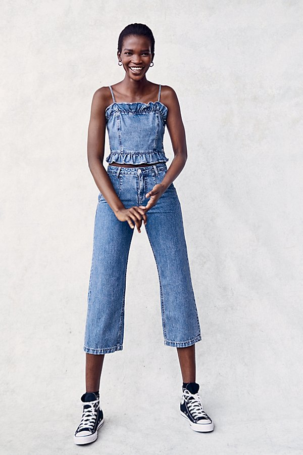 Slide View 4: Ava Denim Co-Ord