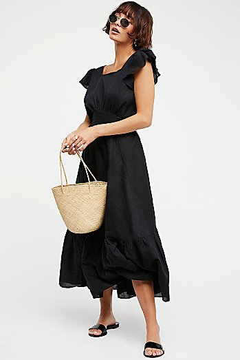 Takin' A Chance Midi Dress