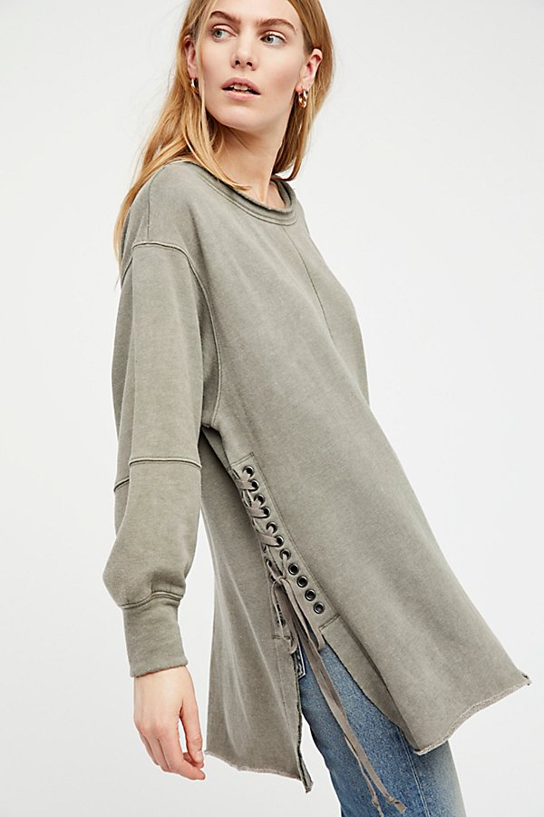 Slide View 1: Long Beach Pullover Tunic