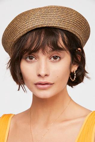 Audrey Straw Beret by Free People