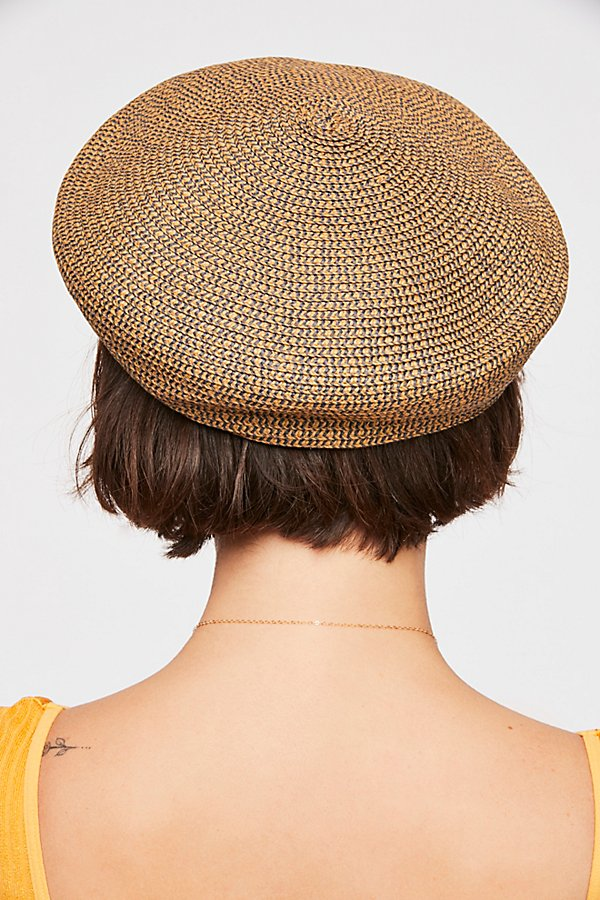 Slide View 2: Audrey Straw Beret