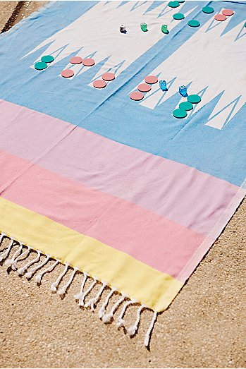 Life's A Beach Game Towel