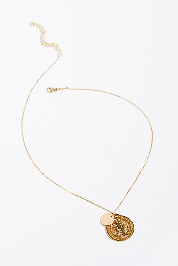 14k Vermeil Vintage Charm Necklace