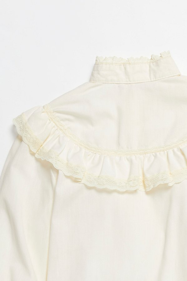 Slide View 5: Vintage 1970s Ruffle Blouse
