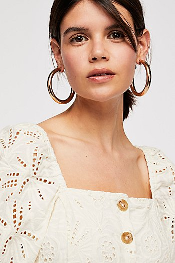 Classic Tube Hoop Earrings