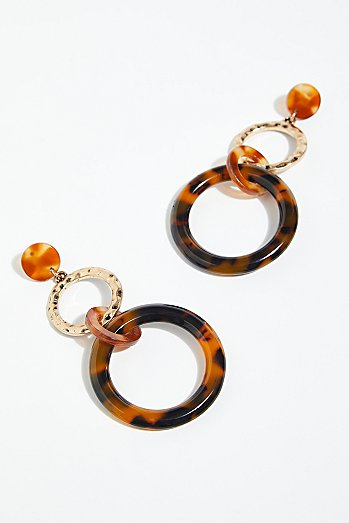 Hazel Resin Hoops