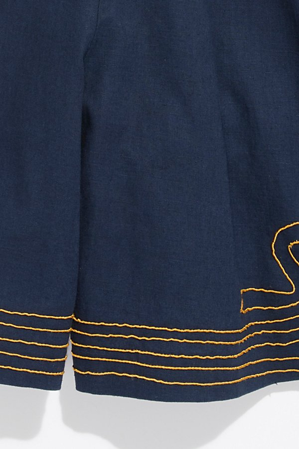 Slide View 2: Vintage 1940s Embroidered Shorts