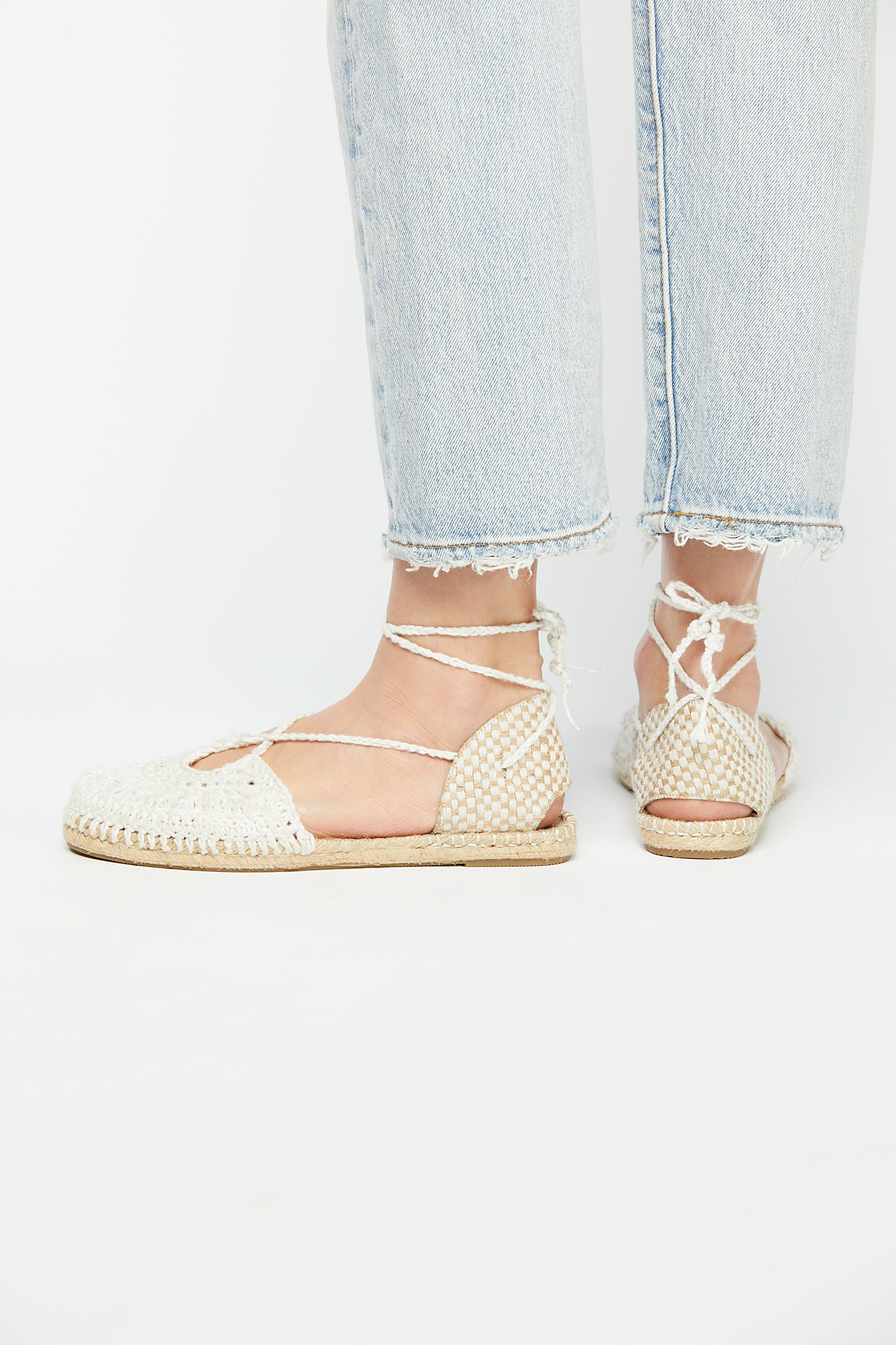 Catalina Crochet Espadrille looking for cheap online get to buy online factory outlet sale online store sale free shipping largest supplier 1B165rgNq5