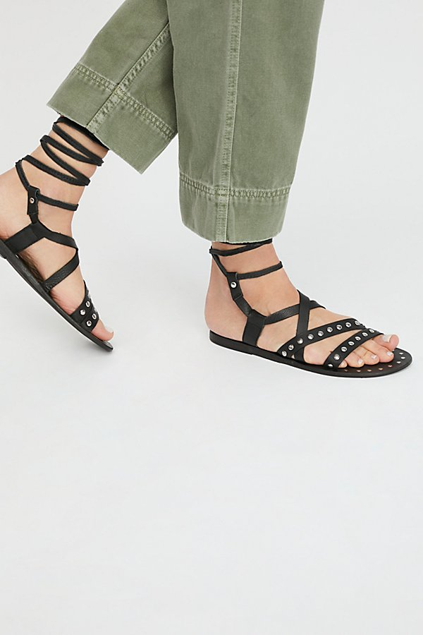 Slide View 1: Steeler Stud Tie Sandal