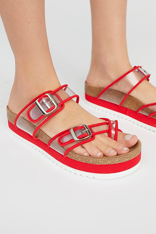 Slide View 3: Clear Skies Footbed Sandal