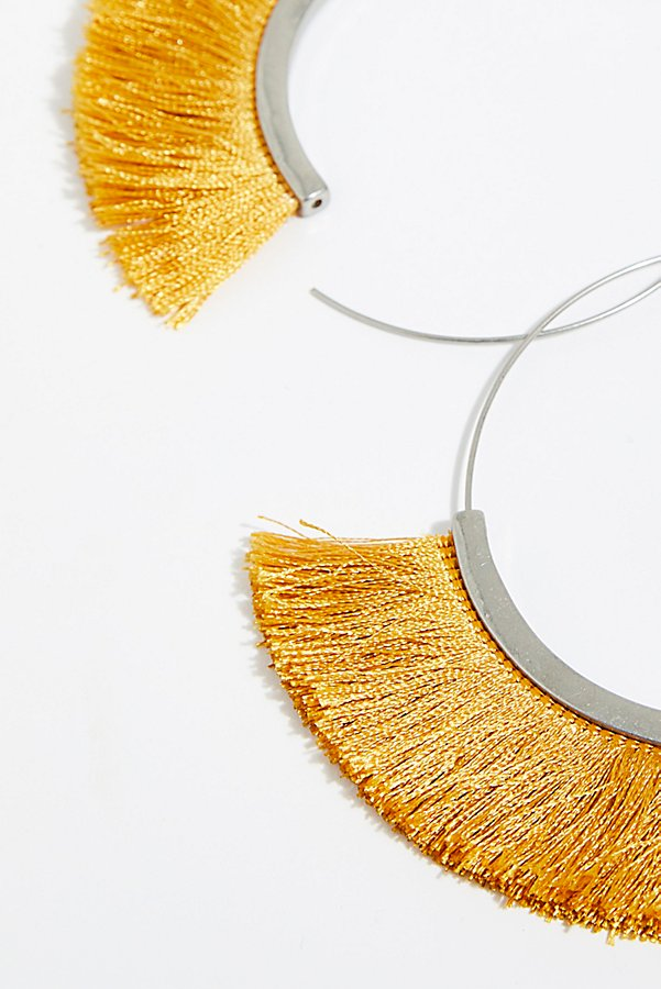Slide View 3: Flamenco Tassel Hoop