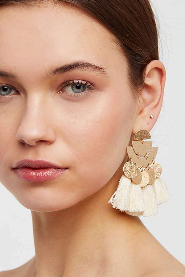 Slide View 1: Pecos Tassel Earring