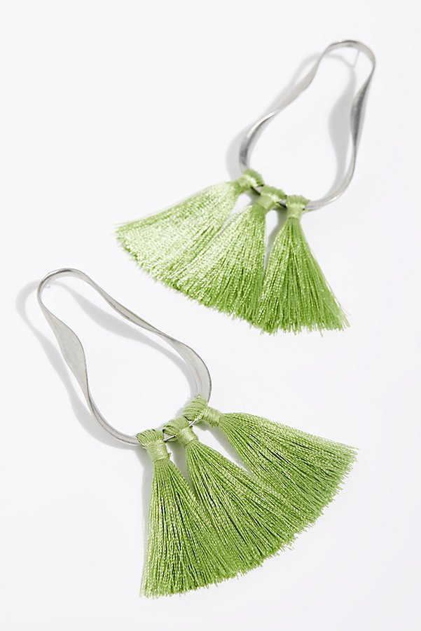 Slide View 2: Java Tassel Earring