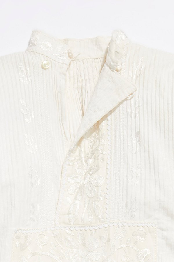 Slide View 2: Vintage 1960s Embroidered Blouse