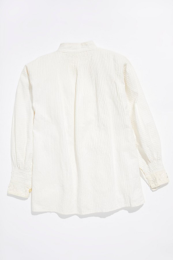 Slide View 4: Vintage 1960s Embroidered Blouse