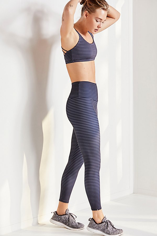 Slide View 1: High Rise Midi Legging