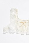 Thumbnail View 2: Vintage 1910s Crochet Lace Top