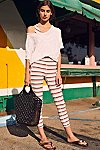 Thumbnail View 4: Striped Gidget Legging