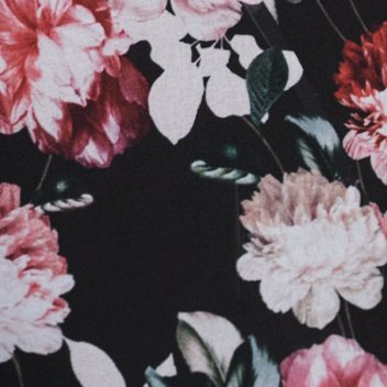 Blushing Blooms Night Print