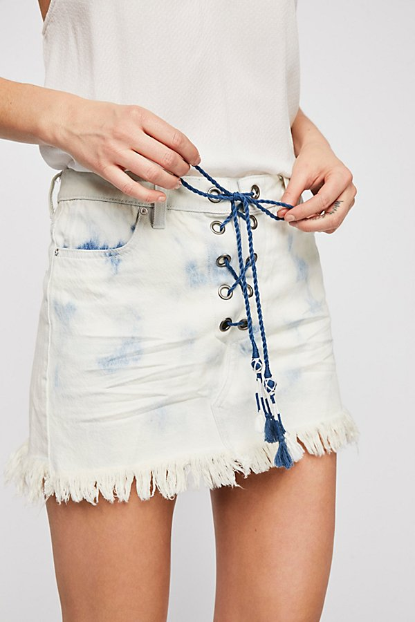 Slide View 2: Kaia Lace-Up Skirt