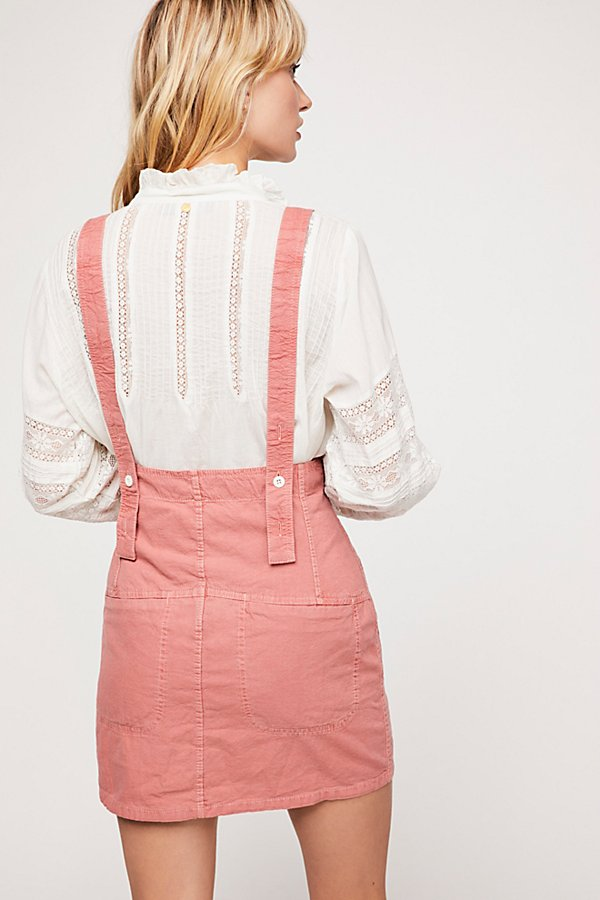 Slide View 2: Forever Young Suspender Pinafore Dress