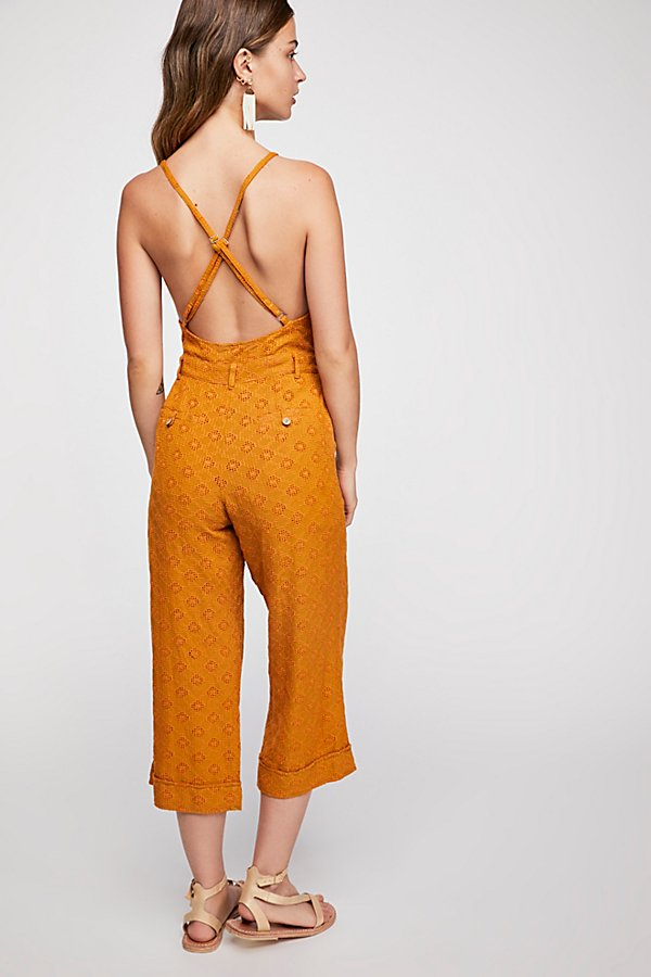 Slide View 2: Honeycomb Jumpsuit