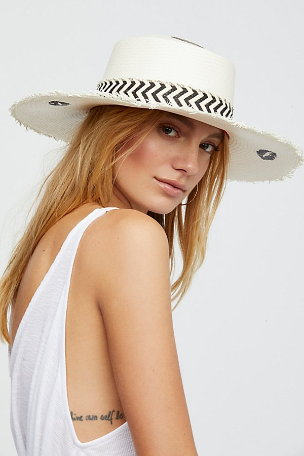 Slide View 3: Valentina Straw Hat