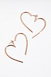 Thumbnail View 2: Heart Hoop Ear Jacket