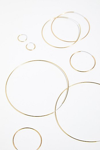 Fine Gauge Hoop Set