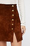 Thumbnail View 4: Understated Suede Mini Skirt