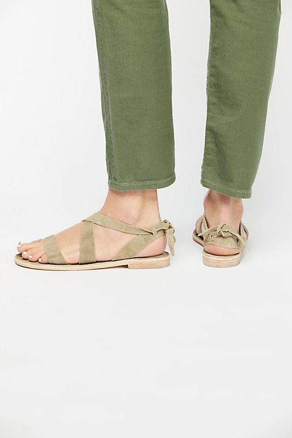 Slide View 4: High Tide Distress Sandal