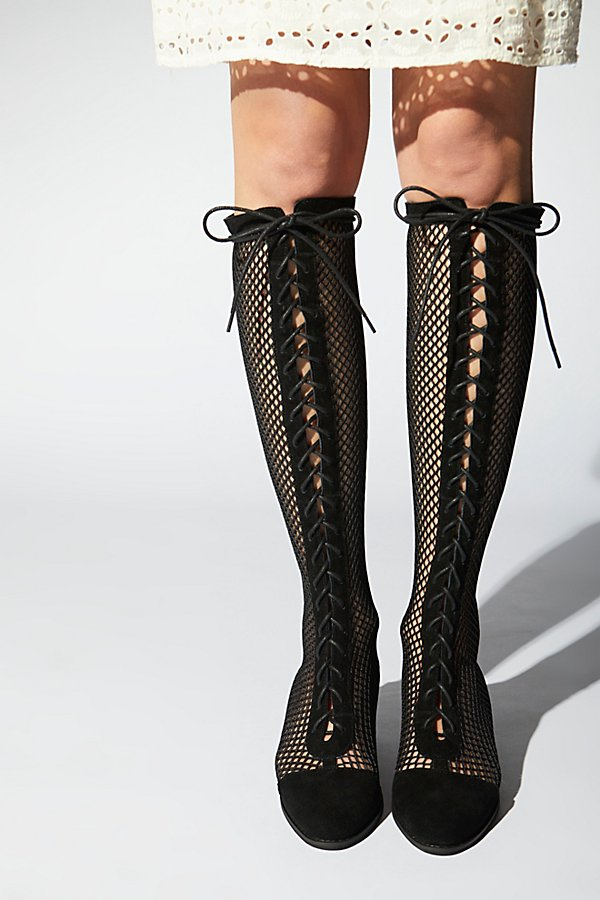 Slide View 1: Mesh Joe Lace-Up Boot