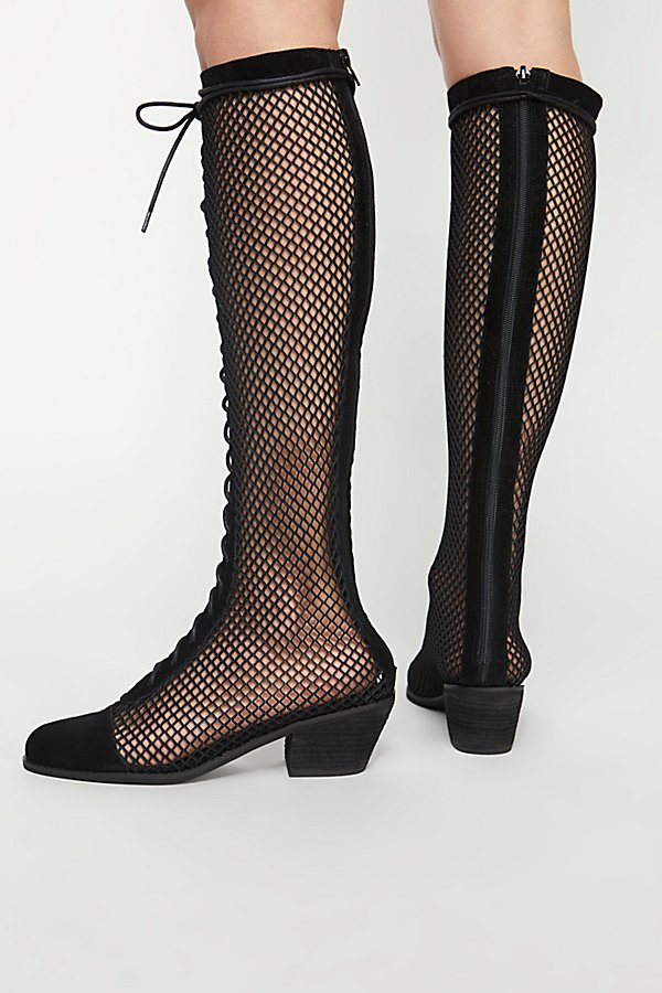 Slide View 4: Mesh Joe Lace-Up Boot