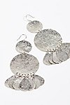 Thumbnail View 2: Serefina Shimmer Coin Earrings