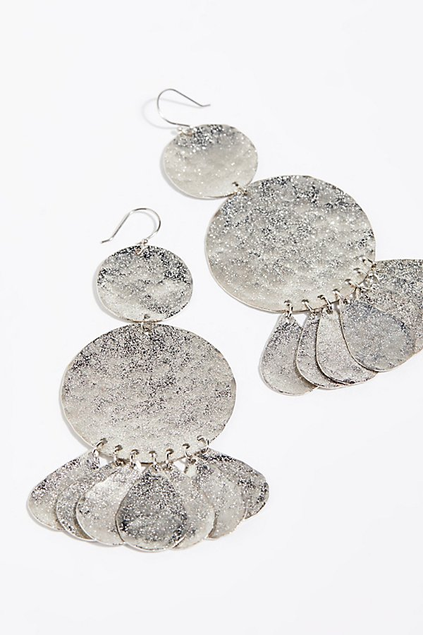 Slide View 2: Serefina Shimmer Coin Earrings