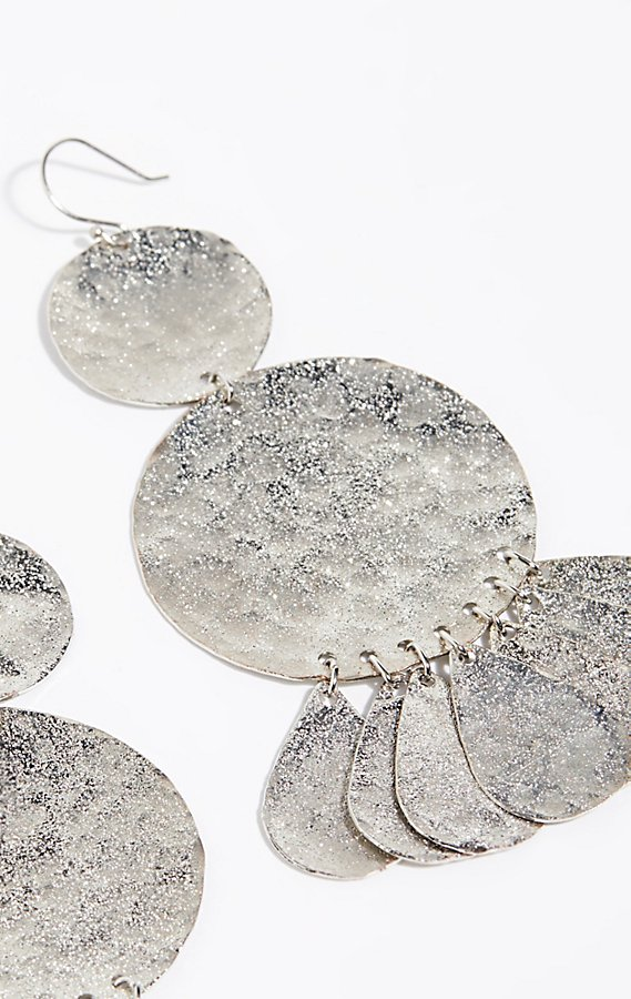 Slide View 3: Serefina Shimmer Coin Earrings