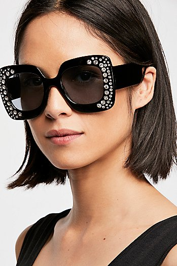 Feel The Groove Embellished Sunnies