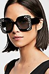 Thumbnail View 1: Feel The Groove Embellished Sunnies
