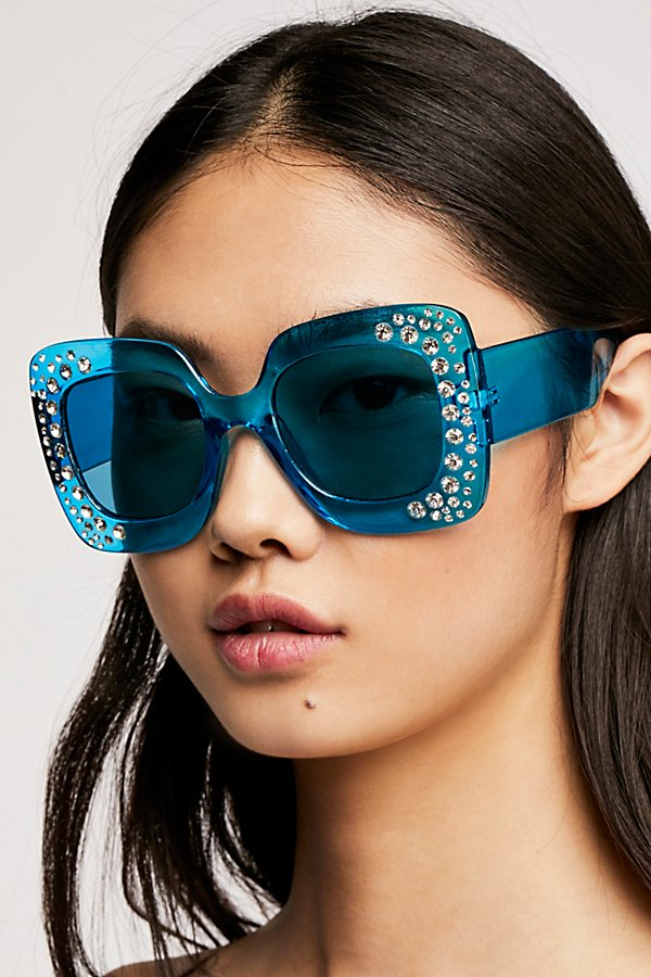 Slide View 1: Feel The Groove Embellished Sunnies