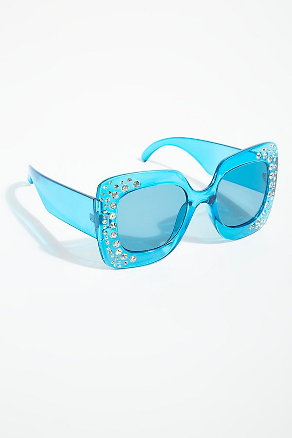 Slide View 2: Feel The Groove Embellished Sunnies