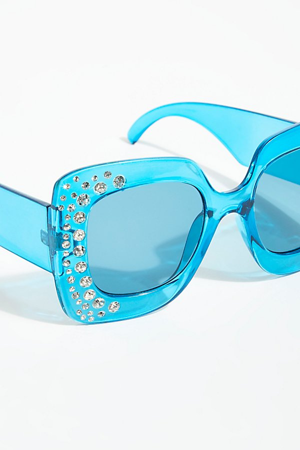 Slide View 3: Feel The Groove Embellished Sunnies