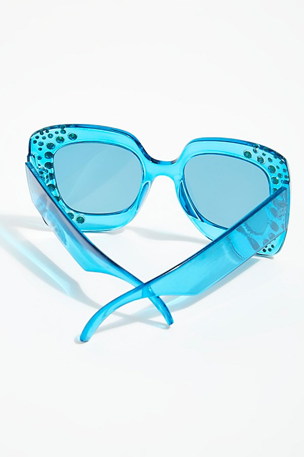 Slide View 4: Feel The Groove Embellished Sunnies