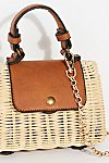Thumbnail View 3: Mini Wicker Crossbody Bag